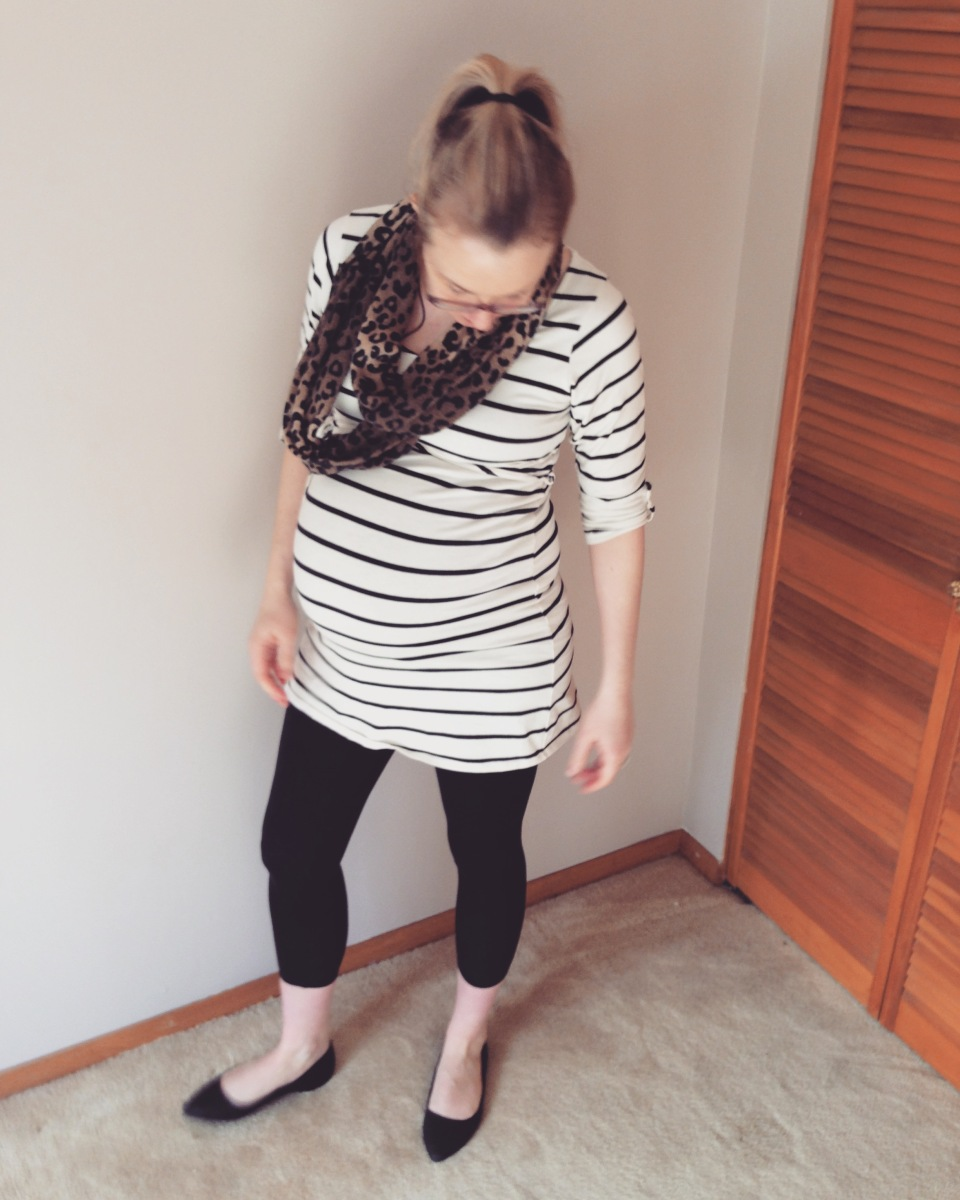 Pregnancy Week Thirty-Nine and First Contractions PLUS Bump Photos